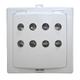 БВИ-А Блок выносной индикации, 8 индикаторов,  150 мА, +1°...+50°C,  IP20