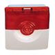 ОПОП 124-7 24В (бело/красный) Оповещатель охранно-пожарный свето-звуковой